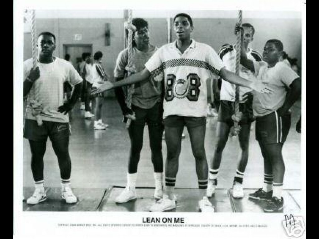 an analysis of the movie lean on me Immediately download the lean on me summary, chapter-by-chapter analysis, book notes, essays, quotes, character descriptions, lesson plans, and more - everything you need for studying or teaching lean on me.