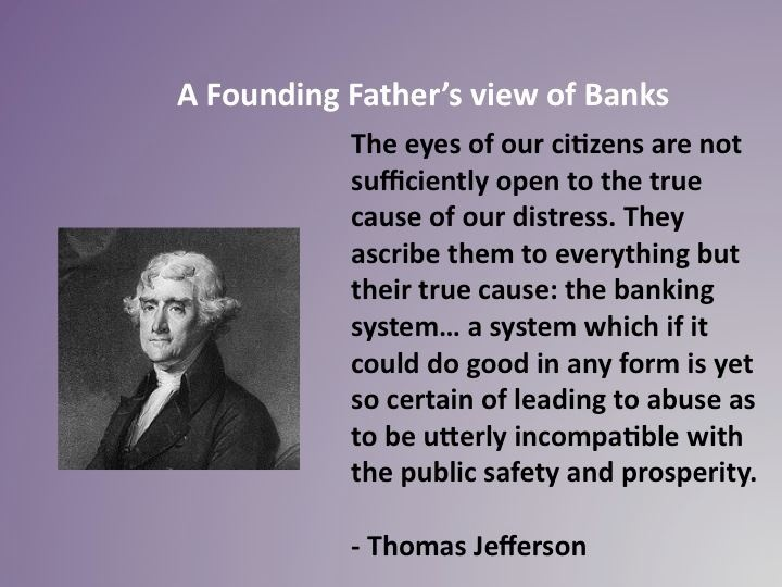 Bankers thomas jefferson quotes quotesgram Thomas jefferson quotes