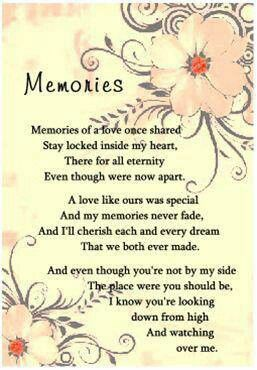 an eternal memory until we meet again poem