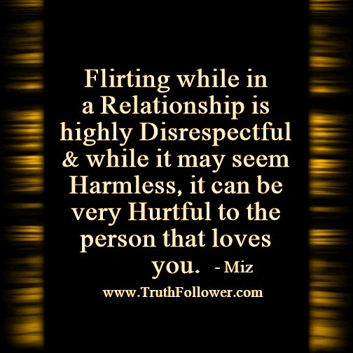 Dealing with disrespect in a relationship