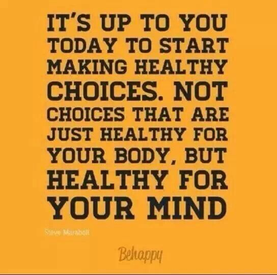 Healthy Choices Quotes. QuotesGram