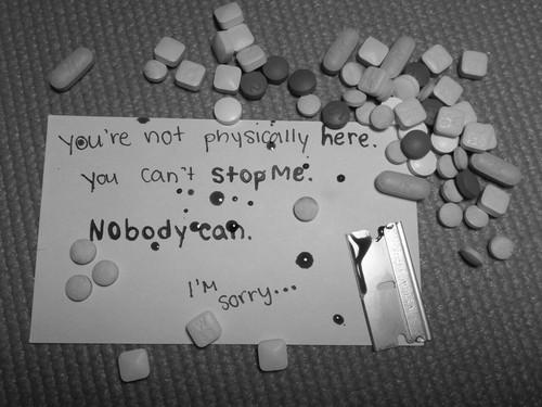 Suicide Cutting Razors Quotes Quotesgram