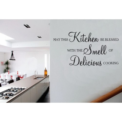 Kitchen Decor Quotes: Small Kitchen Wall Vinyl Quotes. QuotesGram