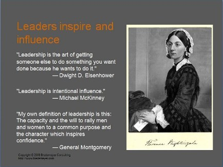 florence nightingales influence on the development Who has been this woman and what she represented for the advance of health policies and the development of  whose influence and  florence nightingale,.
