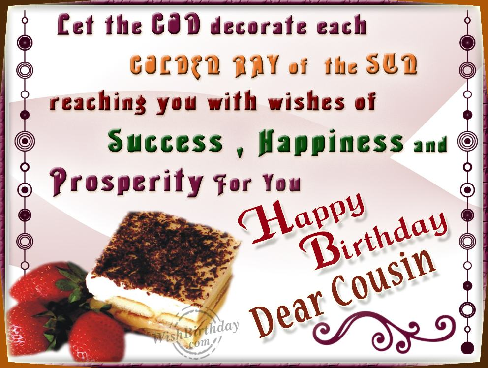 Happy Birthday Cousin Funny Quotes Quotesgram