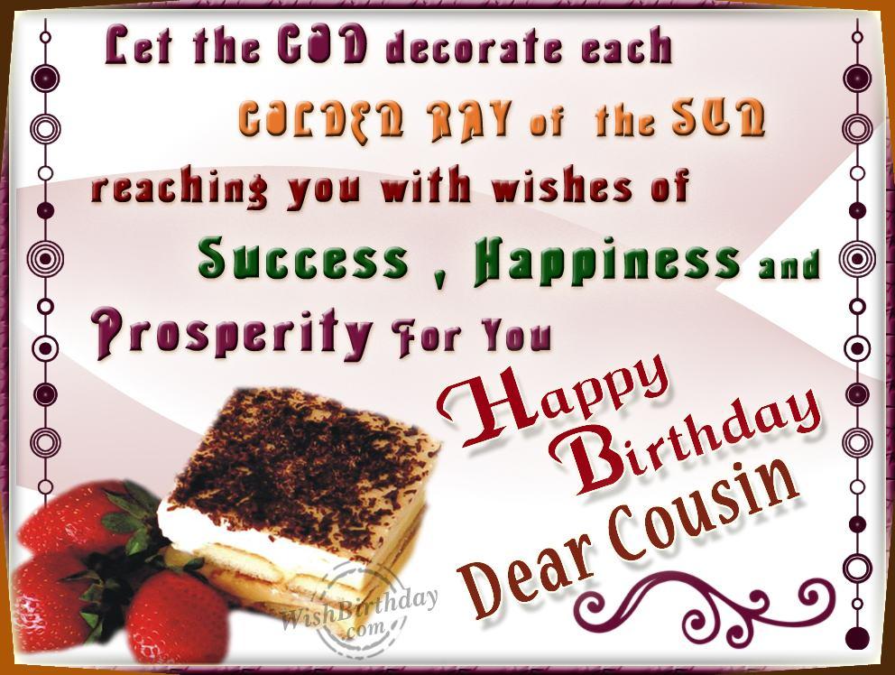 Happy Birthday Cousin Funny Quotes. QuotesGram