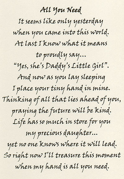 Father And Daughter Poems Or Quotes. QuotesGram