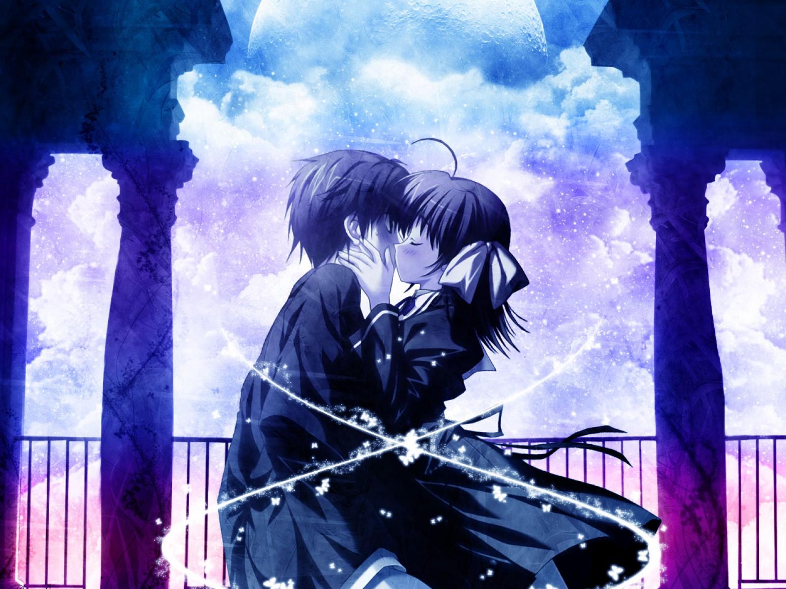Картинки о любви романтика из аниме