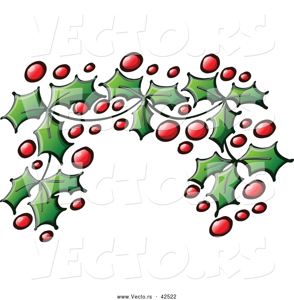 christmas holly border coloring pages - photo#33