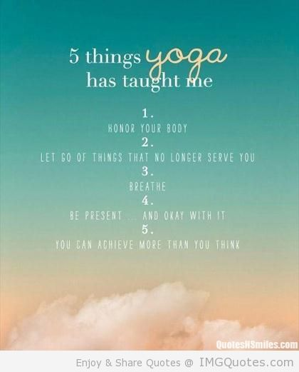 Yoga Quotes On Life. QuotesGram