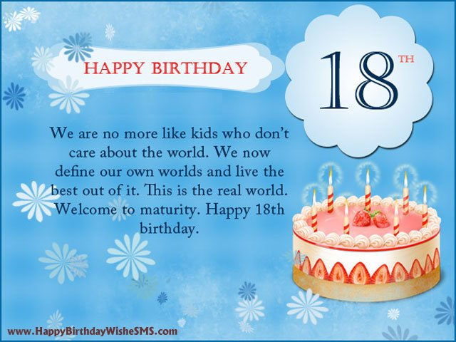 18th Birthday Grandson Quotes. QuotesGram