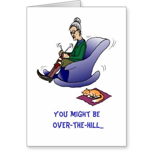 Happy Over The Hill Birthday Birthday Humor Dog Card: Over The Hill Birthday Quotes. QuotesGram