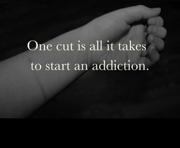 Depressing Quotes About Cutting: Stopping Self Harm Cutting Quotes. QuotesGram