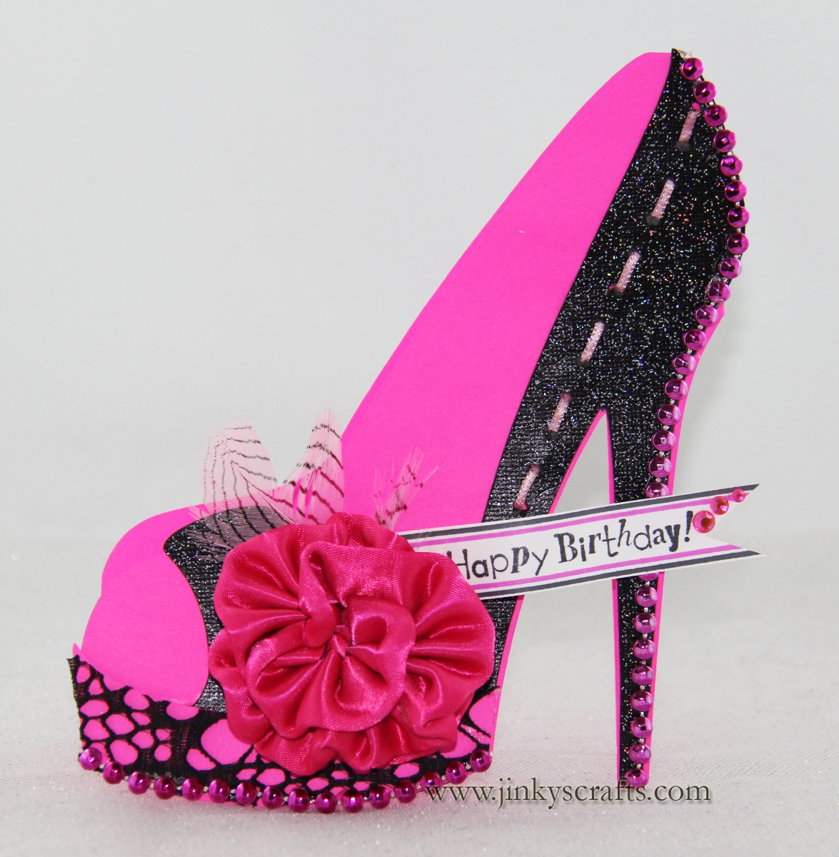 high heel template for cards - birthday shoe quotes quotesgram