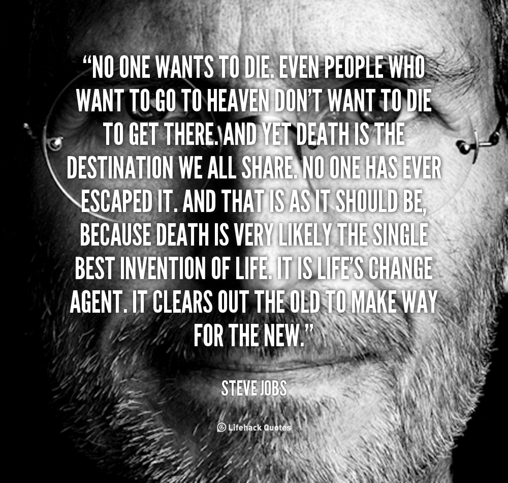 Change Or Die Quote
