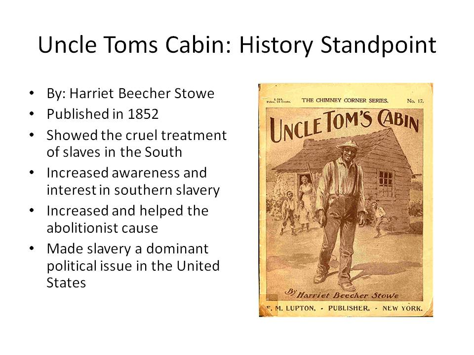 uncle toms cabin religious too essay