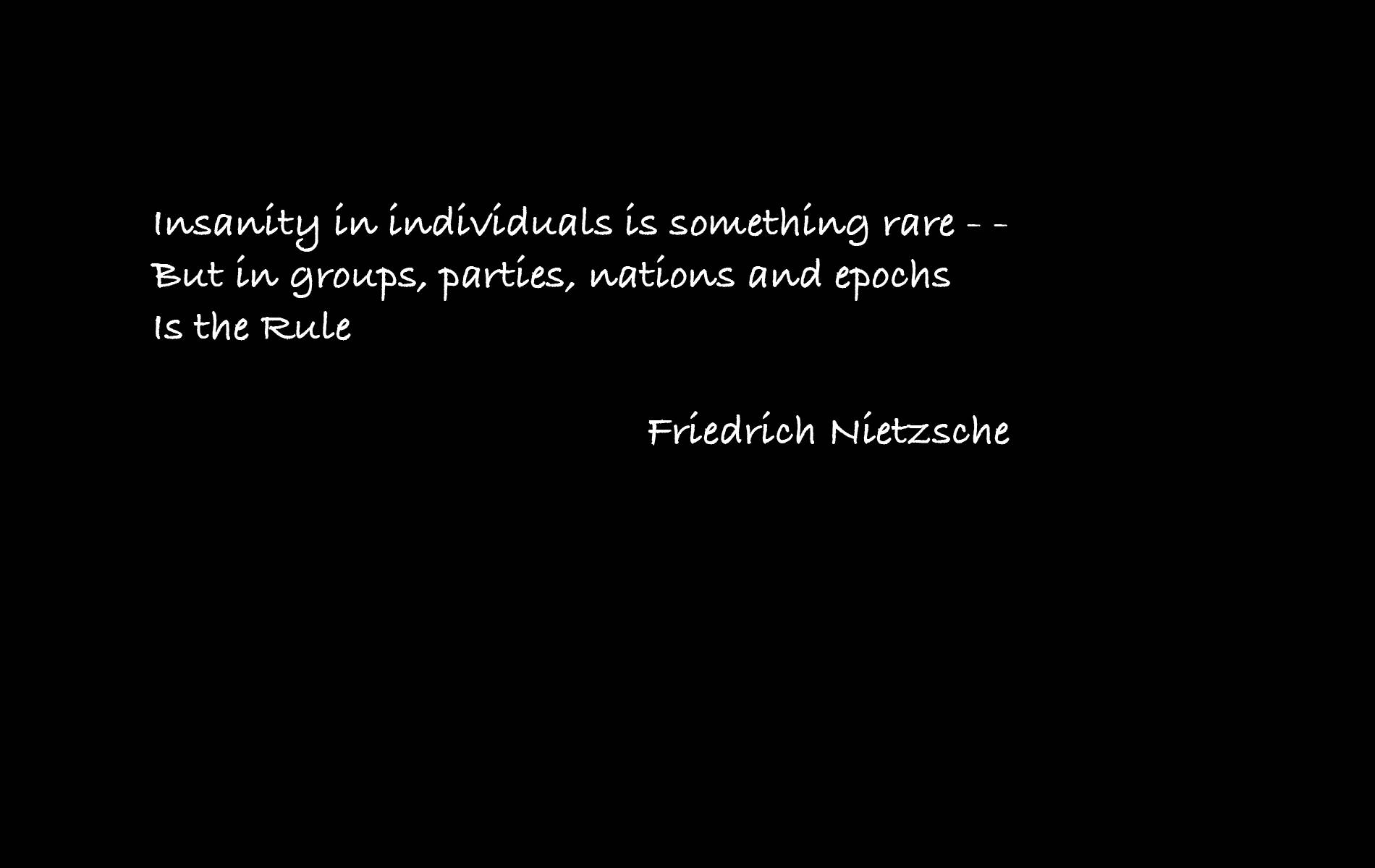 nietzsche and gandhi society