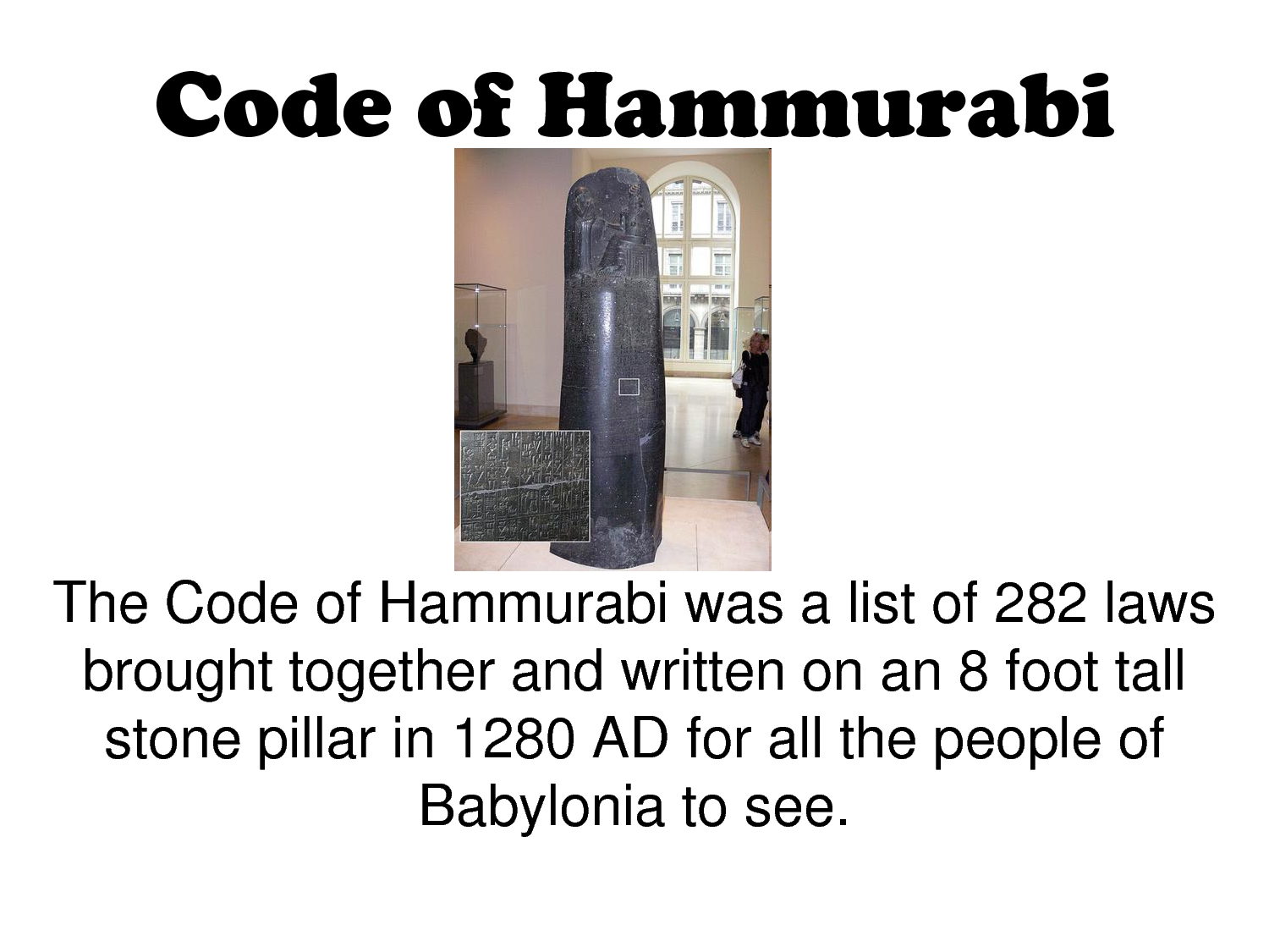 code of hammurabi essay questions