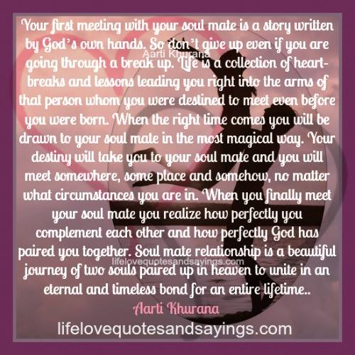 Love Each Other When Two Souls: Soul Mate Quotes And Sayings. QuotesGram