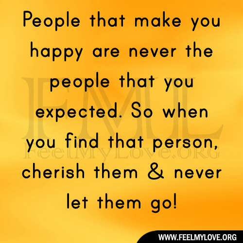 Quotes About That One Person That Makes You Happy: Quotes About People Who Make You Happy. QuotesGram