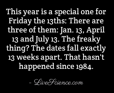 Quotes About Friday The 13 Quotesgram