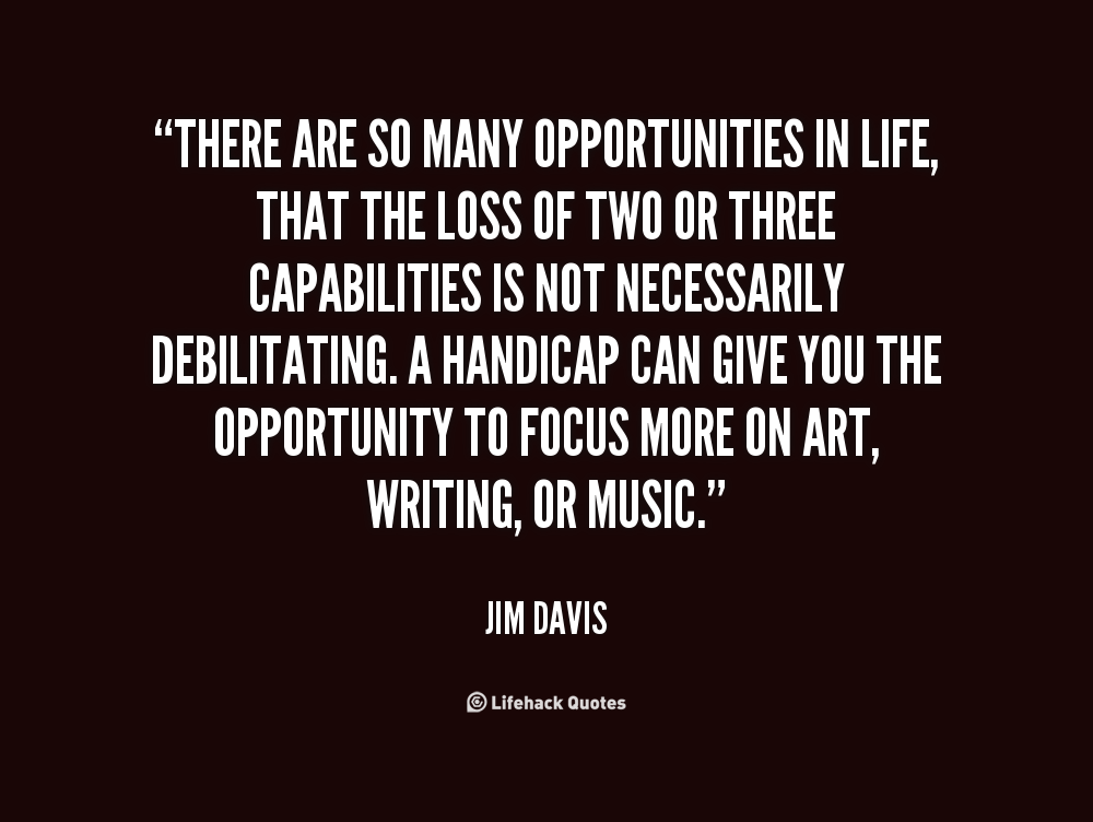 Life Messages And Quotes: Quotes About Opportunities In Life. QuotesGram