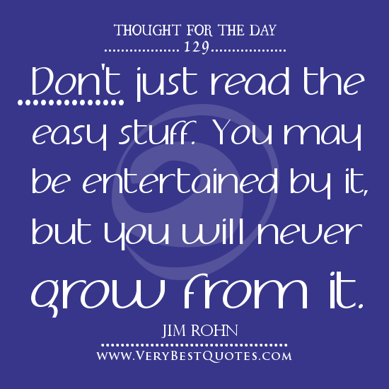 Thought For The Day Quotes: Quotes Of The Day Easy. QuotesGram
