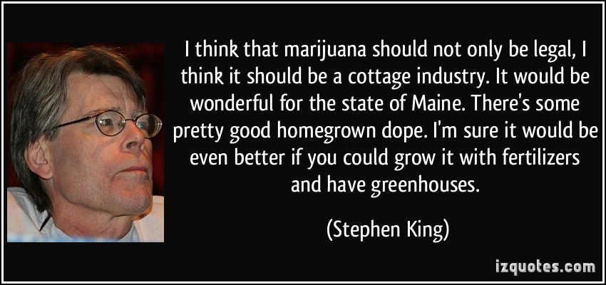 marijuana should be legalized to help our economy The taxation revenue of legalized marijuana products has already  for the state's public school capital construction assistance fund, and  economies of scale, legalization would probably reduce the overall.