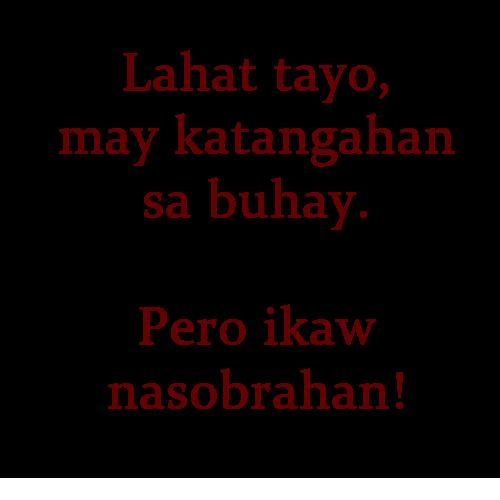Twitter Quotes Tagalog Patama: Patama Quotes Sa Malalandi. QuotesGram