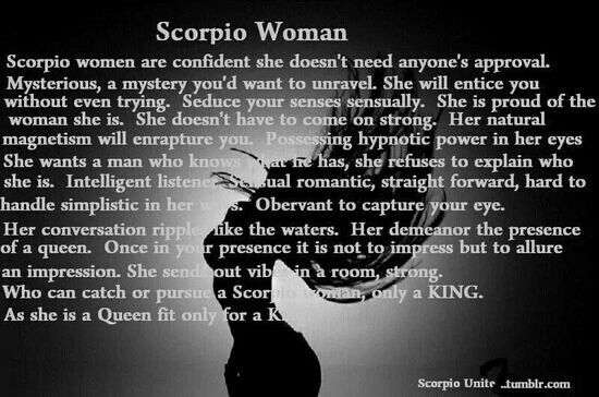 Scary Quotes About A Scorpio. QuotesGram
