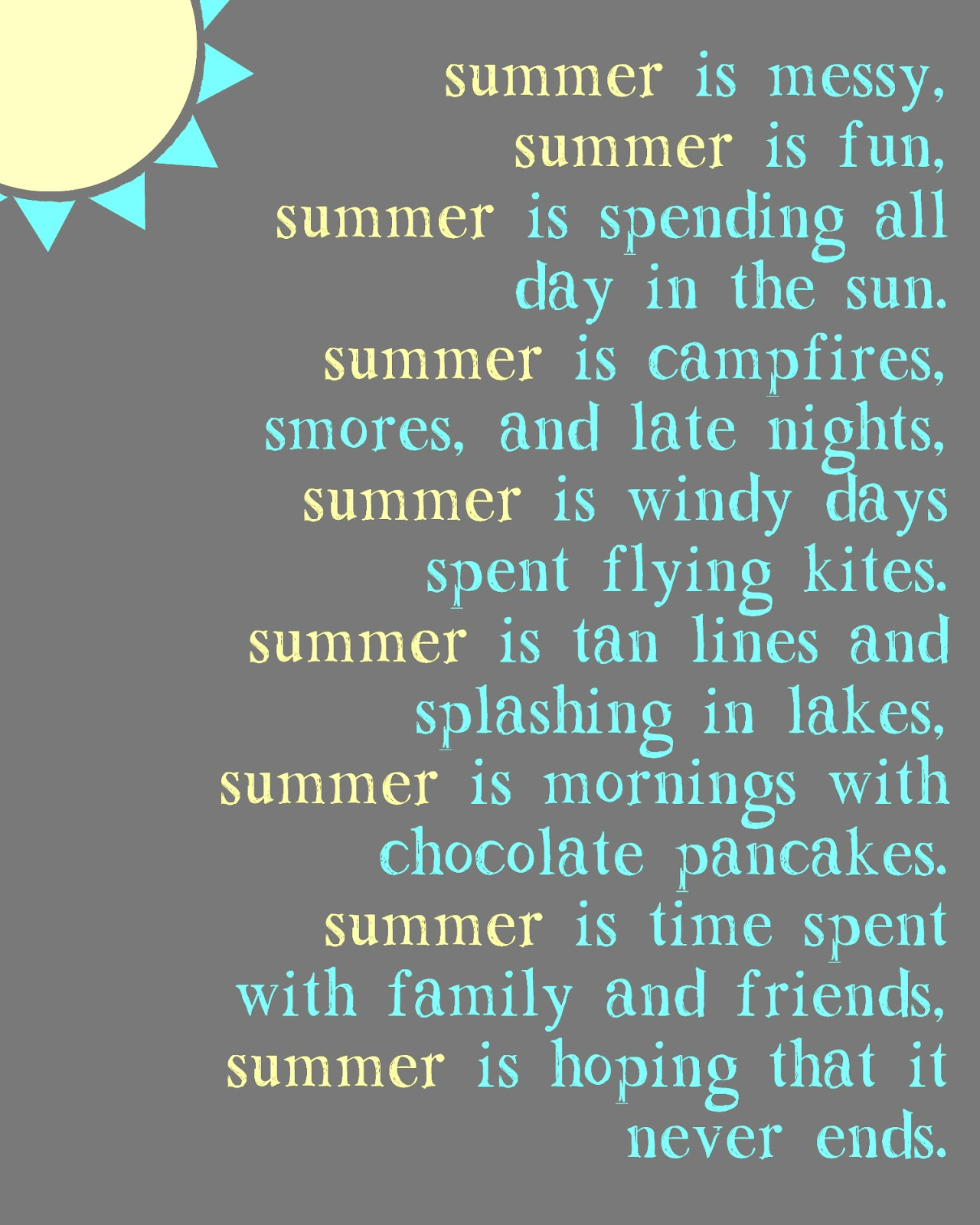 Simple Summer Quotes. QuotesGram