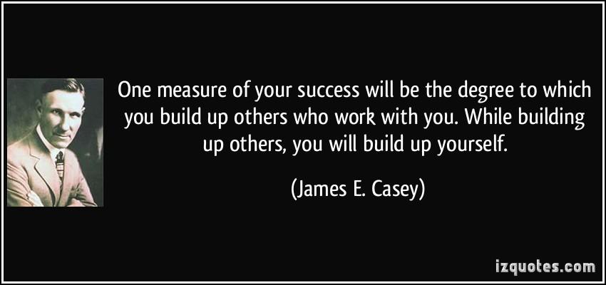 James E Casey Quotes Quotesgram