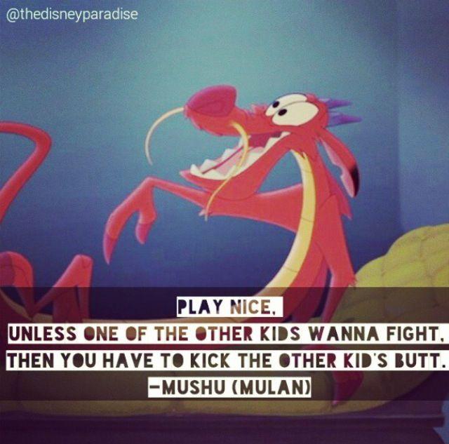 1000  Mulan Quotes on Pinterest | Mulan, Mulan ii and Mushu mulan