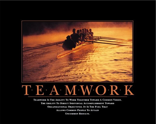 Motivational Quotes For Teamwork In Workplace. QuotesGram