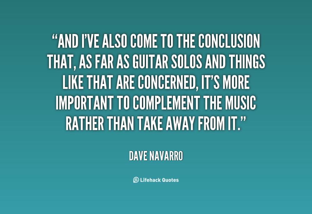 Conclusion quotes