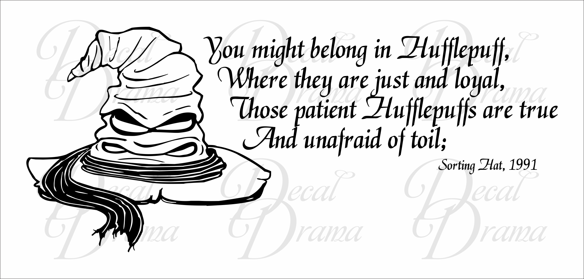 Sorting Hat Harry Potter Quotes QuotesGram