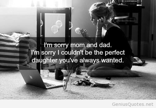 I'm Sorry...Dad