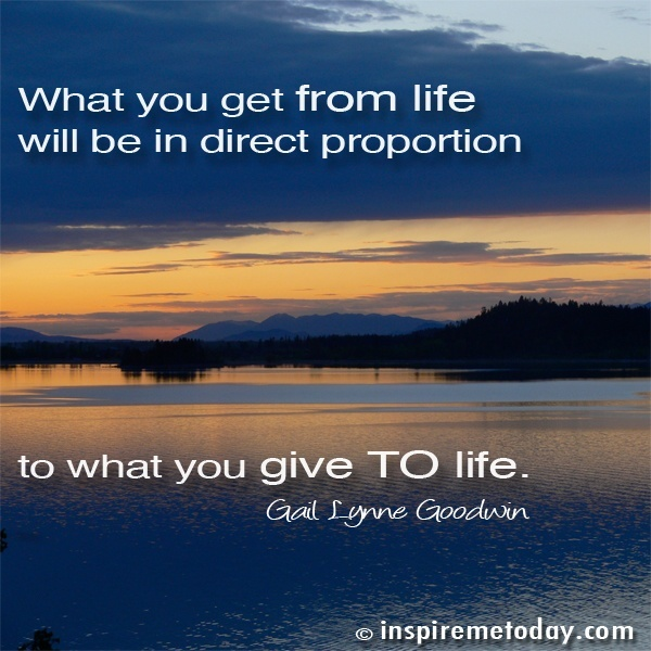 You Get What You Give Quotes. QuotesGram