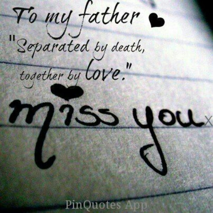 Missing Dad In Heaven Quotes. QuotesGram