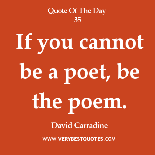 Life Quotes Poetry: Inspirational Life Quotes And Poems. QuotesGram