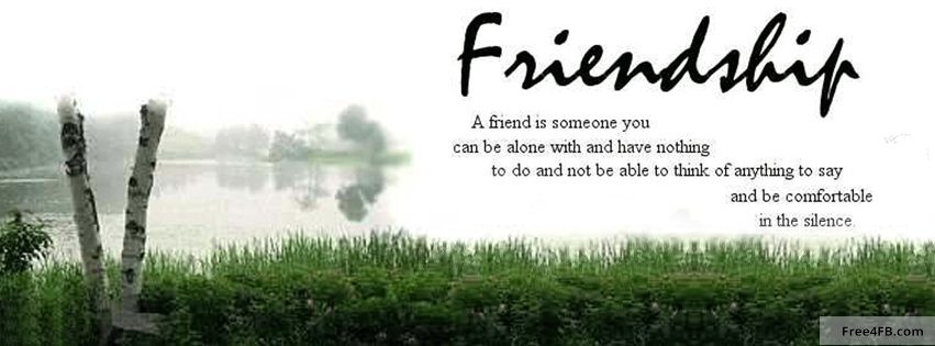 Friendship Quotes Facebook Covers. QuotesGram