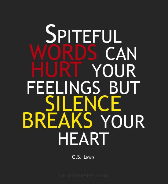 words can hurt quotes  quotesgram