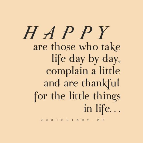 The Little Things Matter Most In Life: Love The Little Things Quotes. QuotesGram