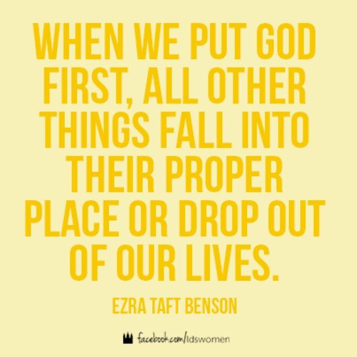 Messed Up Life Quotes: Ezra Taft Benson Quotes. QuotesGram