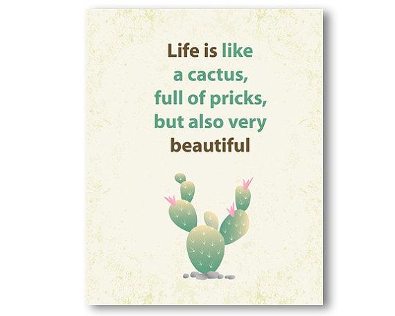 Cactus Quotes Love