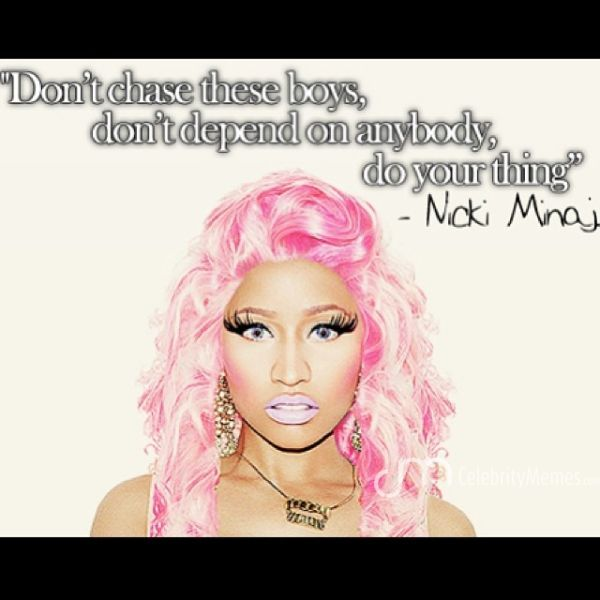 Nicki Minaj Quotes About Relationships: Nicki Minaj Quotes 2014. QuotesGram