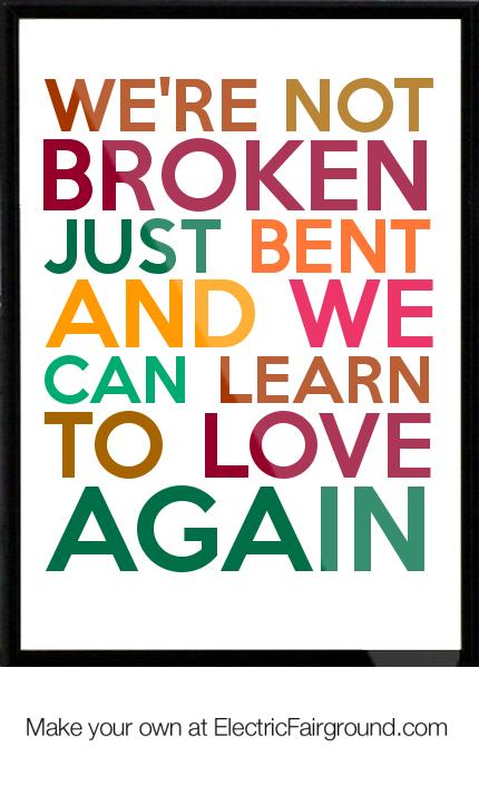 JEFF & SHERI EASTER - LEARN TO LOVE AGAIN LYRICS