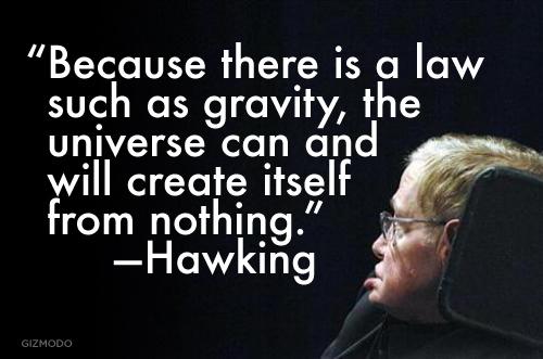 Big Bang Stephen Hawking Quotes Quotesgram