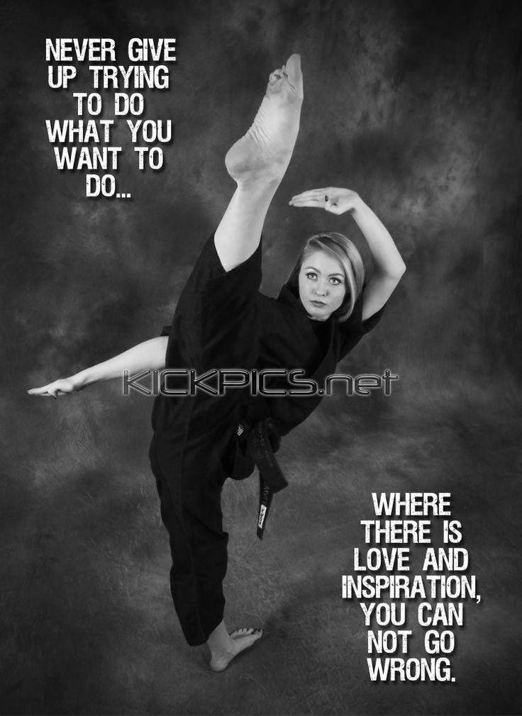 Girl Martial Arts Quotes Quotesgram