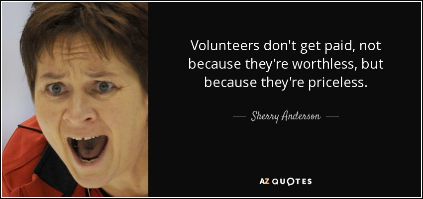 Priceless Quotes For Volunteers Quotesgram